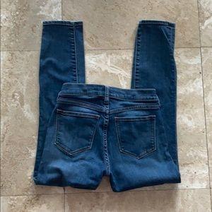 J crew skinny jeans size 25/26